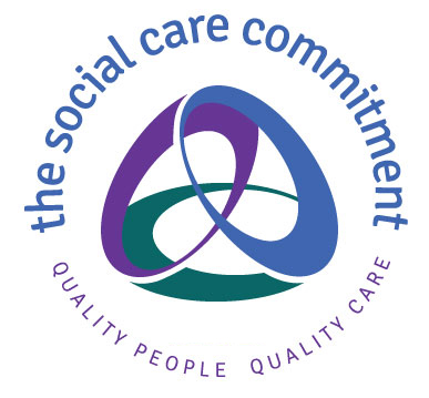 social care commitment logo