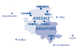 <strong>care@carersresource</strong> area Map