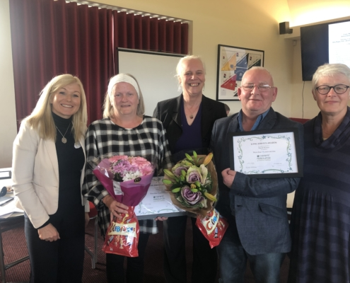 Tracey Fox David Brown Long Service Award Oct 2019